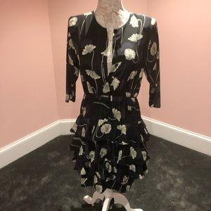 Vintage tulip 🌷 petal layered dress